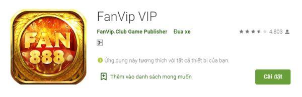 ứng dụng fanvip club